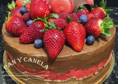 Tarta de Chocolate Conteporanea